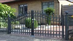 Elegant Driveway gates, Wrought Iron Gates, custom driveway gate, metal gates, decor, entrance, contemporary gates, wood automated gates, ranch gates, farm gates, gate design ideas