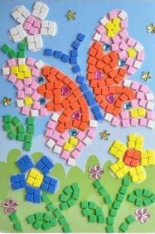 3D Mosaic Children's Butterfly Sticker Kit Offered by Bonanza Crafts. www.BonanzaCrafts.com #diamondpainting #5ddiamondpainting #paintwithdiamonds #gem&Diamondpainting #kidscrafts # #paintingwithdiamonds #gempainting #craftsforkids #Paintbynumbers #beadembroidery #embroidery #DIYcrafts #handembroidery #3DMosaicSticker #diamondpaintingcards #diamondpaintingbirthdaycards #birthdaycards #crossstitch