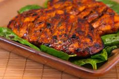 Grilled Chicken with Balsamic Vinegar -- perfect, juicy grilled chicken breasts for all phases! Use an all-natural seasoned salt (like Simply Organic) and omit the oil for Phases 1 and 2.
