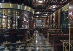 Inside look of the Bar at Samaria Hotel