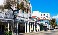 A view of Bay Street in Nassau. The capital is often filled with cruise ship day-trippers, but the city still has its historic charms. (From: Photos: 10 Most Visited Cities in the World)