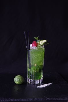 Julep Safari, with Kiwi Syrup 1883. #Cocktail #Bartender
