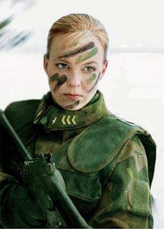 DMP-FF076 FINNISH FEMALE SOLDIER by damopabe, via Flickr