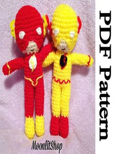 I know some kids who would love these dolls!  #crochet #geek #pattern #affiliate