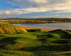 Lahinch Golf Club in Ireland. Maybe someday TK and I will play a round here, hmmmmm?