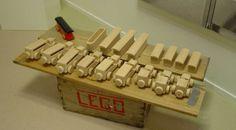 houten creaties van ole krik christian voor hij blokjes maakte