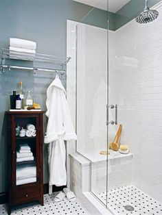 For lower bathroom.  Small Bathrooms by Design Style