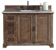 """Providence 48"""" Driftwood Single Bathroom Vanity"""