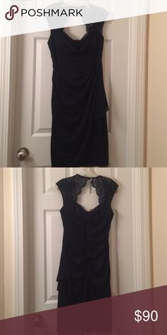Navy blue formal dress From David's Bridal got as a bridesmaids dress and only wore it once-- super flattering! Xscape Dresses