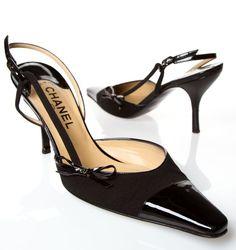 Meow! Kitten Heel Designer Shoes CHANEL