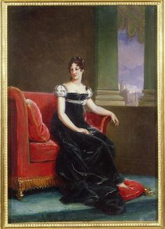 ca. 1810 Desideria Bernadotte as Crown Princess by BaronFrançois Pascal Simon Gérard