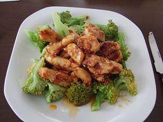 Honig - Hähnchenbrust mit Sesam und Broccoli, ein gutes Rezept aus der Kategorie Gemüse. Bewertungen: 123. Durchschnitt: Ø 4,2.