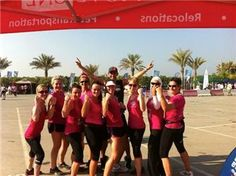 Urban Energy team at Hercules Trophy Dubai 22 March. Today is a good day!