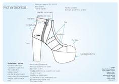 (2012) Diseño de calzado on Behance  María Laura Luna   Diseño de calzado basado en la colección de verano 2012/2013 de la marca RÍE.   Shoe design . spring summer