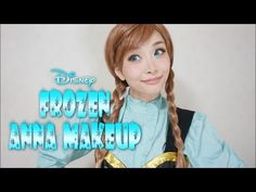 Queen Ana wind and snow make Disney's Frozen Anna Makeup Tutorial / Ana - YouTube