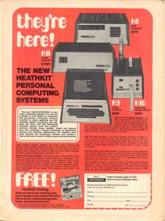 They're here, Vintage Computer, Vintage ad