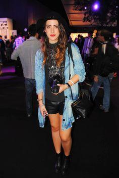Ana Victoria GR de @oddcatrina  el martes de la Mercedes Benz Fashion Week Mexico S/S 2015 por Rough & Smooth
