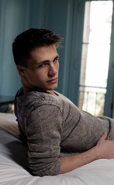 Colton Haynes - another of the unbelievably good looking cast of Teen Wolf. (Season 1 & 2 anyway.)