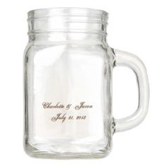 Golden Look 2018 Mason Jar - wedding decor marriage design diy cyo party idea Mason Jar Drinks, Pink Mason Jars, Glitter Mason Jars, Mason Jar Gifts, Gifts For Wedding Party, Bridal Gifts, Party Gifts, Wedding Cups, Wedding Ideas
