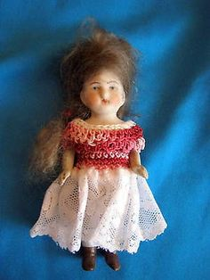 Rare  doll -Hertwig /Germany-Thuringia -dressed and marked