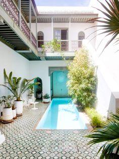 The Prettiest Hotel in Morocco | lark & linen