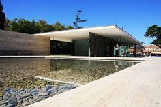 German Pavillion by Mies Van der Roe in #Barcelona