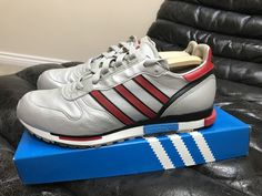 0e9eac706cf0a Adidas Rising Star Trainers Deadstock 2004 Retro Vintage OG