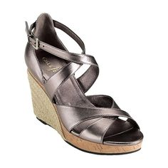 To replace my much-worn metallic wedges that died last summer in a subway stairs incident.