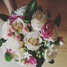 Ramo de novia romántico