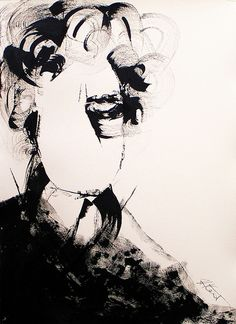 ink on paper Line Drawing, Painting & Drawing, Contemporary Australian Artists, Art Informel, Fashion Communication, Avant Garde Artists, Artist Gallery, Pin Up Art, Melancholy