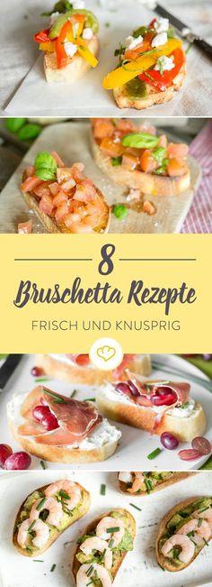 Hol dir die Italiensonne aufs Brot. Mit unserem 5 frischen Ideen für knusprige Bruschetta katapultierst du dich im Nu an die italienische Riviera.