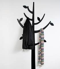 Coat Tree Wall Sticker from Ferm Living – Coat Hanger Design