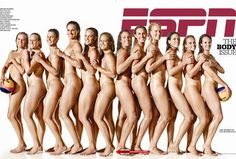First Look: USA Water Polo Women's National Team in ESPN The Mag's 'Body Issue' - No Jessica, you may not take a picture like this!