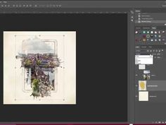 How to Use Spill Frames in Photoshop and PSE [Video] - Digital Scrapbooking Blog and scrapbook inspiration From DesignerDigitals