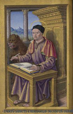 Grandes Heures d'Anne de Bretagne (Jean Bourdichon, début XVIe) © BNF