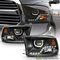 Not Compatible on Models w/ Factory Projector Headlights. Dodge Ram 4x4, Dodge 3500, 2012 Dodge Ram 1500, Dodge Rams, Dodge Dually, 2017 Ram 1500, Lifted Chevy, Mopar, Maserati