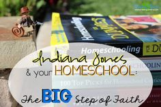 Indiana Jones & Your Homeschool by Raising Clovers: What do they have in common? A BIG step of faith! Have you been fearful about starting to homeschool -- either for the first time or all together. Well, then this post is for you! I hope you find encouragement. http://www.raisingclovers.com/2015/06/21/indiana-jones-your-homeschool/