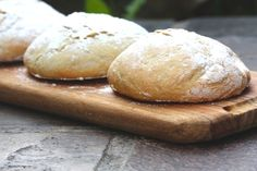 The Bread Series- Delicious and rustic Mozambican Pao aka (Portuguese bread) Serve warm with butter, or dip into soup. Yummy!