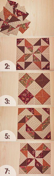 Я люблю пэчворк | I love patchwork | 20 способов раскладки