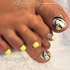 Super Ideas For Pedicure Designs Nailart Toe Pretty Toe Nails, Cute Toe Nails, Fancy Nails, Love Nails, My Nails, Toenail Art Designs, Pedicure Designs, Toe Designs, Pedicure Nail Art