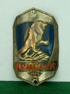 Old Headbadge Peugeot Paris Cycle Old Bicycle Badge Plate Emblem Lefol Simplex | eBay