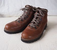 PETER LIMMER BROWN Mountaineering Hiking  Boots Mens Size 13.5  Wide 13 - 1/2 W