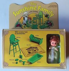 VINTAGE SUNSHINE FAMILY - Little Sweets Baby - Nursery Set Mattel - 1974 -NRFB | eBay