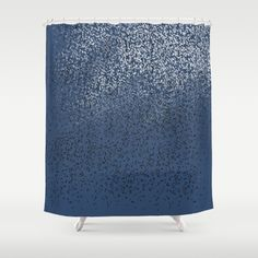 Cloud of birds Dark blue sky - $68 Shower Curtains, Dark Blue, Birds, Clouds, Sky, Decor, Decoration, Heaven, Decorating