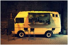 VW café in Poland, Taho Café DIY project...