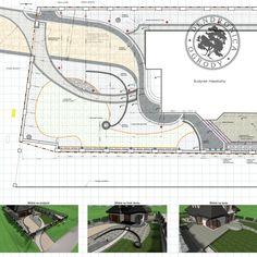 Projekt nawierzchni z kostki brukowej - jeden z rysunków wchodzących w skład projektu ogrodu. . #projektkostki #kostkabrukowa #domwzefirantach #paving #pin #projektantogrodów #landscapedesigner Kaito, Map, Instagram, Design, Location Map, Maps