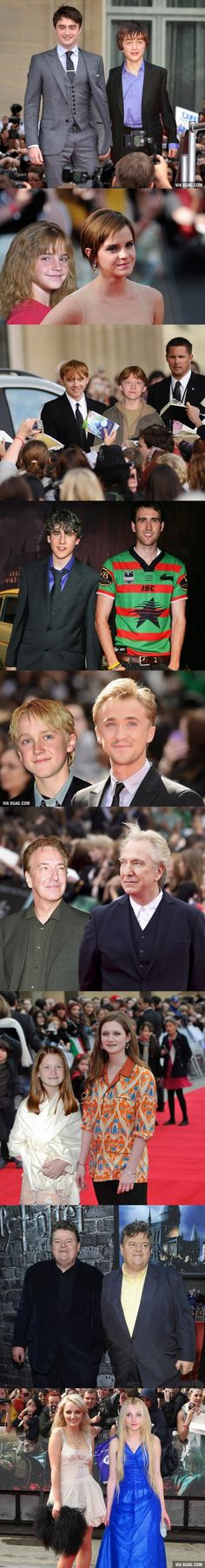 "Then Vs. Now: The ""Harry Potter"" Cast At Their First And Last Premiere"
