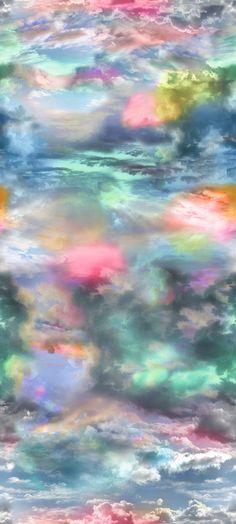 Ciel Liberte Aurora mural by Christian Lacroix
