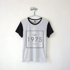 The 1975 Square Logo Long Sleeve T-shirt – Kiss Me Bang Bang