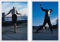 Robert Longo, Men in the Cities (Cindy) / Men in the Cities (Eric) 1981, 2014